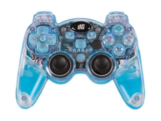 dreamGEAR PlayStation 3 Lava Glow Wireless Controller (Blue)