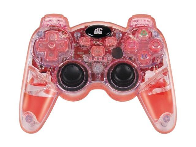 dreamGEAR PlayStation 3 Lava Glow Wireless Controller (Red)
