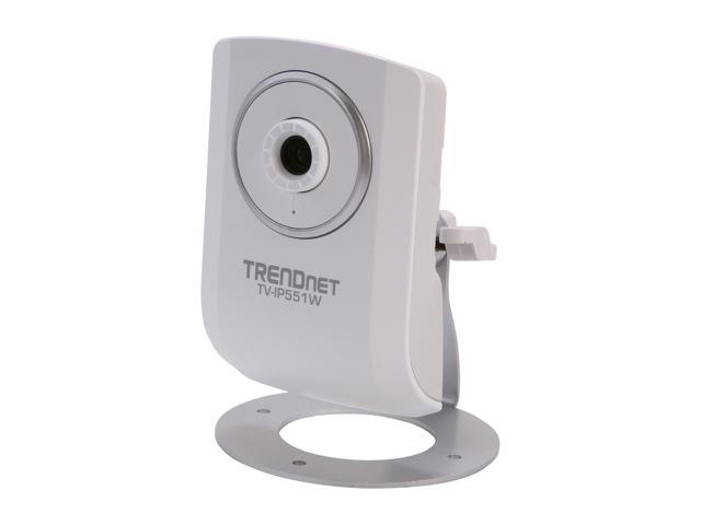 TRENDnet TV-IP551W 640 x 480 MAX Resolution RJ45 Wireless N Internet Camera