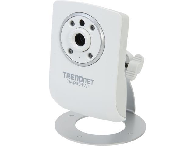 TRENDnet TV-IP551WI 640 x 480 MAX Resolution RJ45 Wireless N Day/Night Internet Camera