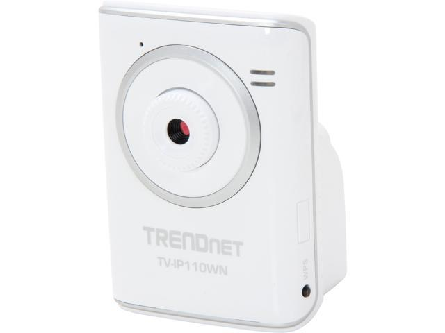 TRENDnet RB-TV-IP110WN 640 x 480 MAX Resolution RJ45 SecurView Wireless N Internet Camera