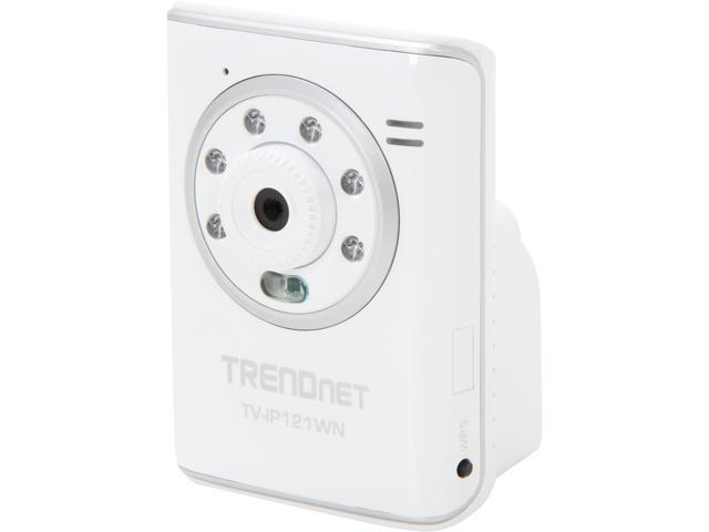 TRENDnet RB-TV-IP121WN 640 x 480 MAX Resolution RJ45 SecurView Wireless N Day/Night Internet Camera