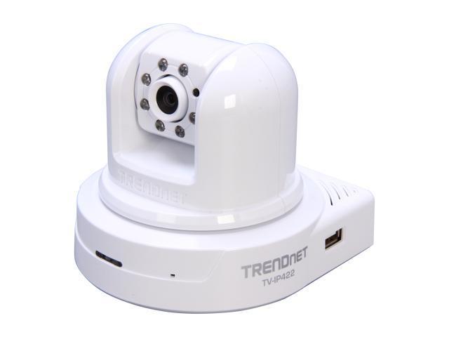 TRENDnet RB-TV-IP422 640 x 480 MAX Resolution RJ45 SecurView Day/Night Pan/Tilt/Zoom Internet Camera