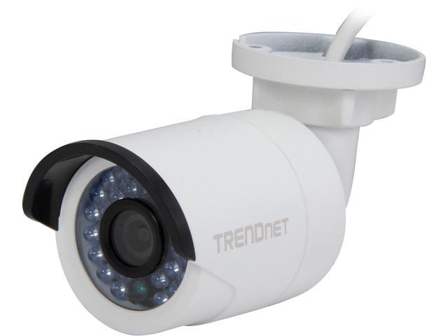 TRENDnet TV-IP310PI (v1.0R) 10/100 Mbps PoE Rort Outdoor 3 MP HD Bullet Day/Night IP Camera