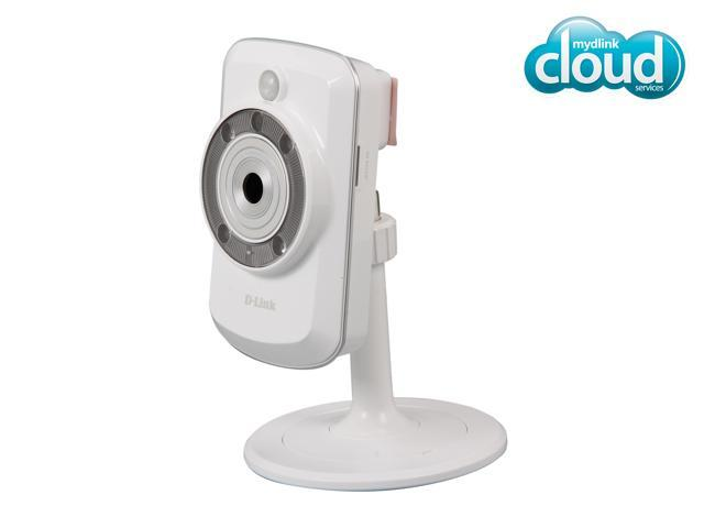 D-Link DCS-942L Cloud Wireless IP Camera, 640x480 Resolution, Night Vision, Video Storage with microSD slot, mydlink enabled