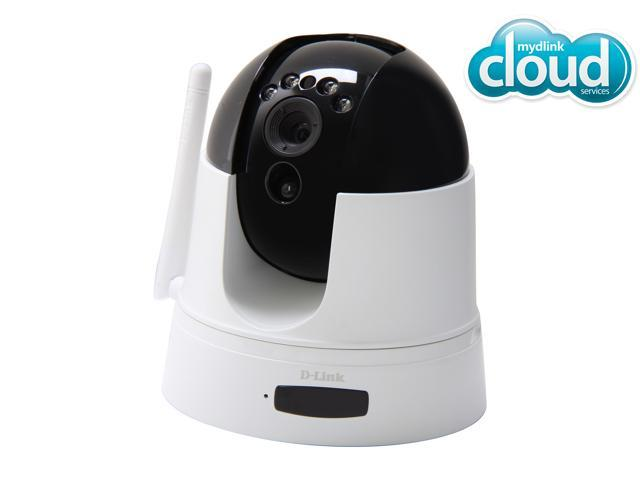D-Link DCS-5222L HD 720P Pan/Tilt Night Vision Motion Detection 2 Way Audio Wireless mydlink enabled Surveillance Cloud IP Camera