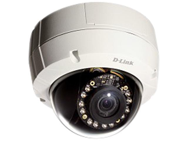D-Link DCS-6511 HD 3.6x Optical Zoom Day & Night Vandal-Proof Outdoor Dome PoE IP Camera
