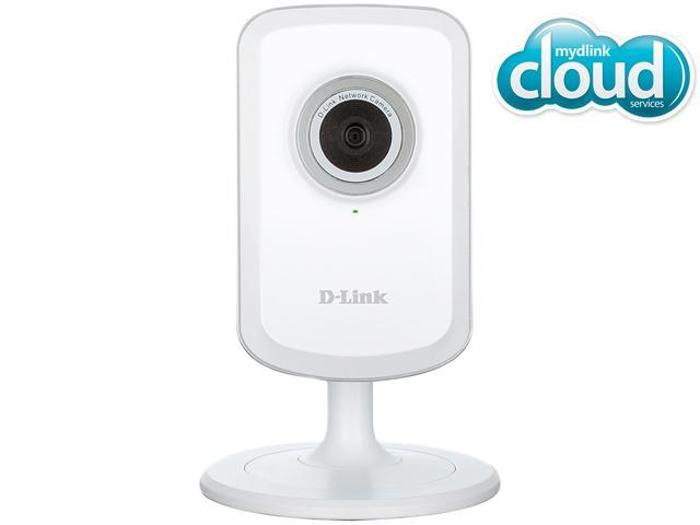 D-Link DCS-931L Cloud Wireless IP Camera, 640X480 Resolution, Wi-Fi Extender, Sound and Motion Detection, mydlink enabled