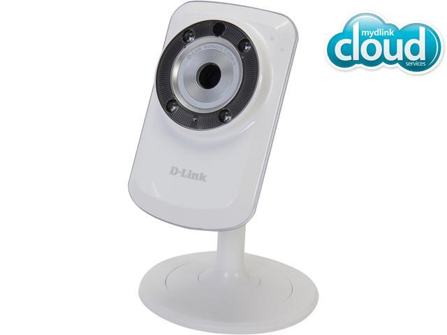 D-Link DCS-933L Cloud Wireless IP Camera, 640X480 Resolution, Night Vision, Wi-Fi Extender, Sound and Motion Detection, mydlink enabled