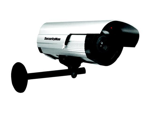 SecurityMan SM-3802 Dummy Outdoor/Indoor Camera w/ LED