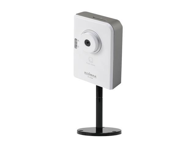 Edimax IC-3100P Cloud IP Camera, 1.3 Mpx Lens, 1280x1024 Resolution, PoE, H.264, SDHC/SD card slot, Plug-n-View, Free EdiView APP for Smartphone