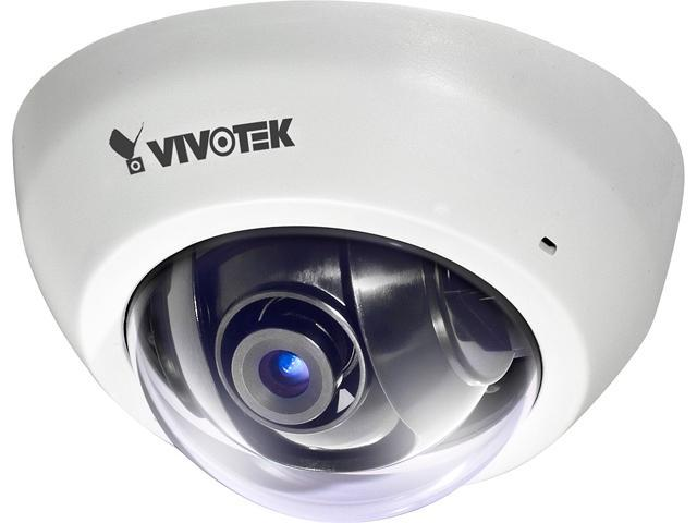 Vivotek FD8136-F6-W 1 MP Ultra-Mini Dome IP Camera (White)