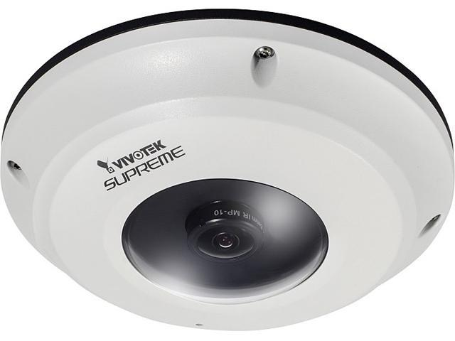 Vivotek FE8174V 1920 X 1080 MAX Resolution RJ45 360° Surround View IP66 Vandal-proof Pixel Calculator Local Dewarp Fisheye Fixed Dome Network Camera