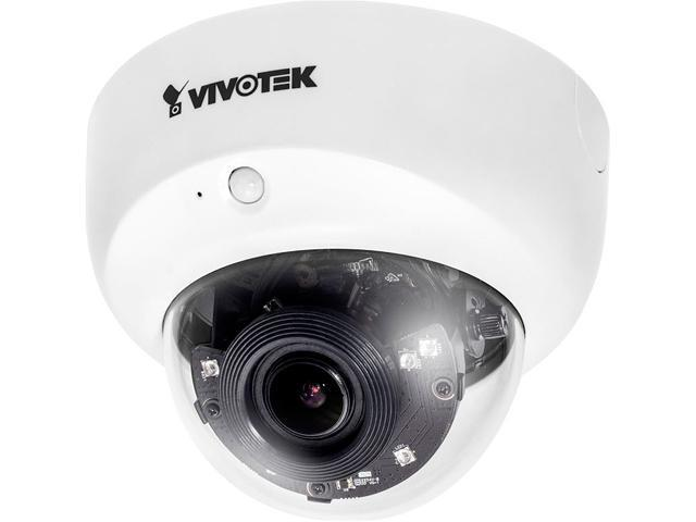 Vivotek FD8167 1920 x 1080 MAX Resolution RJ45 2MP 30M IR Smart IR Smart Stream Low Light Fixed Dome Network Camera