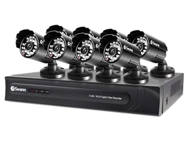 Swann SWDVK-163258-US 16 Channel H.264 Level 16 Channel 960H Digital Video Recorder with 8 x PRO-615 Cameras