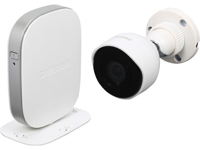 SAMSUNG SmartCam SNH-E6440BN Full HD 1080P Day & Night WDR 2 Way Audio Outdoor Wireless IP Camera