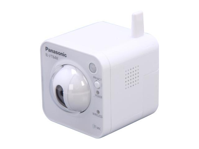 Panasonic BL-VT164W 1280 x 720 MAX Resolution RJ45 Pan-tilt Wireless Network Camera