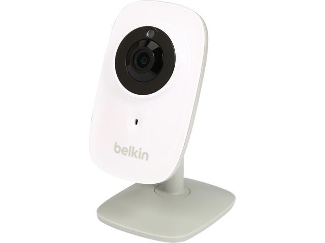 Belkin F7D7606 Netcam HD+ Wi-Fi Camera with Glass Lens and Night Vision