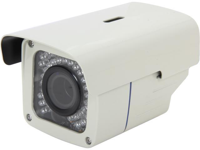 Aposonic A-CDBIV08 700 TVL Sony 960H Exview HAD II CCD 1028 x 508 Resolution 2.8-12mm Varifocal Weatherproof Bullet Camera