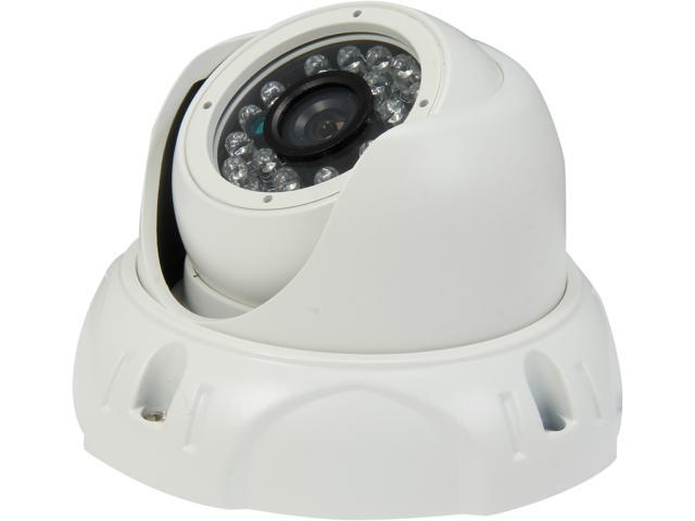 Aposonic A-CDMP36 700 TV Lines MAX Resolution Day & Night Vision Weatherproof Dome Camera