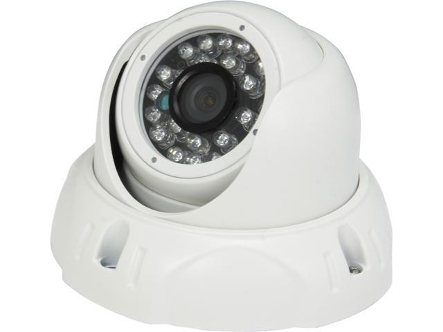 Aposonic A-CDMP28 700 TV Lines MAX Resolution Day & Night Vision Weatherproof Dome Camera