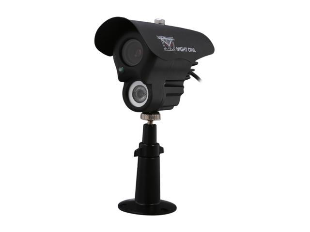 Night Owl CAM-LA-BS14420-B 420 TV Lines MAX Resolution BNC LED Array Indoor/Outdoor Black Camera