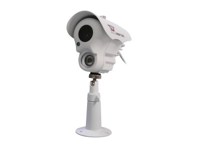 Night Owl CAM-LA-BS14420-W 420 TV Lines MAX Resolution BNC LED Array Indoor/Outdoor White Camera