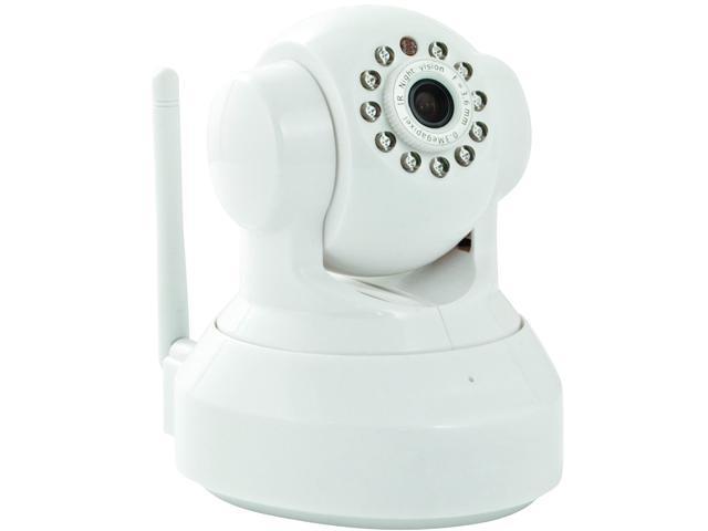 INSTEON Wireless Pan/Tilt IP/Network Camera, Wht (75790WH)
