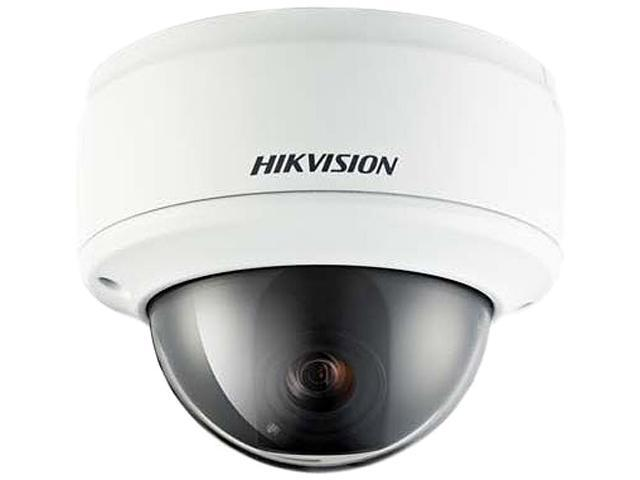 Hikvision DS-2CD793NFWD-EI 704 x 576 MAX Resolution RJ45 WDR Vandal Resistant Network Dome Camera