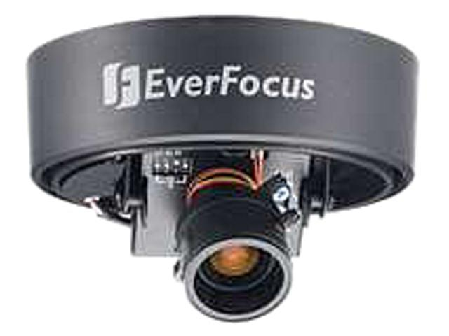 EverFocus ED350/NW 560 TV Lines MAX Resolution Indoor Mini Color Dome Camera with White Base