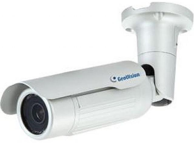 GeoVision GV-BL3410 2048 x 1536 MAX Resolution RJ45 3MP H.264 3x zoom WDR Pro IR Bullet IP Camera