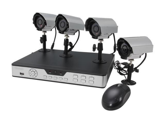 ZMODO PKD-DK0863-NHD 8 CH CCTV Surveillance DVR Outdoor Camera System (HD Sold Separately)