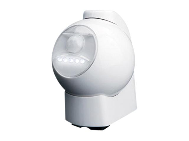 Maxsa 40231 Motion-Activated LED Outdoor Light -white