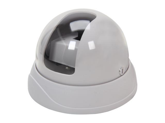 Vonnic VCD530W 600 TV Lines MAX Resolution Indoor Ex-View Star-Night Dome Camera - White