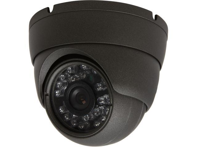 Vonnic VCD503CG 700 TV Lines MAX Resolution Pixelplus CMOS Outdoor Vandal Resistance Night Vision IR Cut Filter Dome Camera