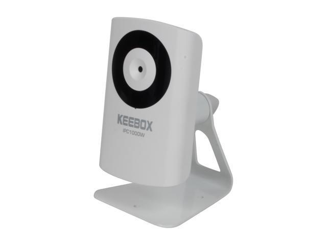 Keebox IPC1000W 640 x 480 MAX Resolution RJ45 KView Wireless N Internet Camera