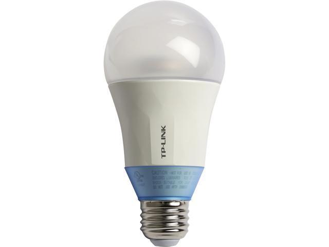 tp link lb120 smart wi fi led bulb a19 bulb e26 fitting 800 lm 60w 2700k 6500k with. Black Bedroom Furniture Sets. Home Design Ideas
