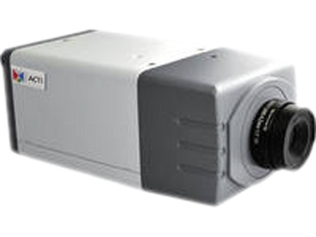 ACTi D21FA RJ45 1 Mp 720p Day & Night HD PoE Color Box Camera with f4.2mm / F1.8 Fixed Lens (with Audio)