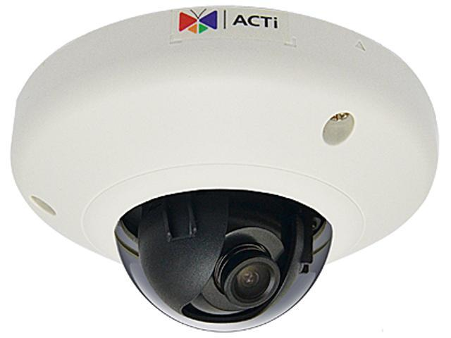 ACTi D92 RJ45 3MP Indoor Mini Dome Camera with Fixed Lens