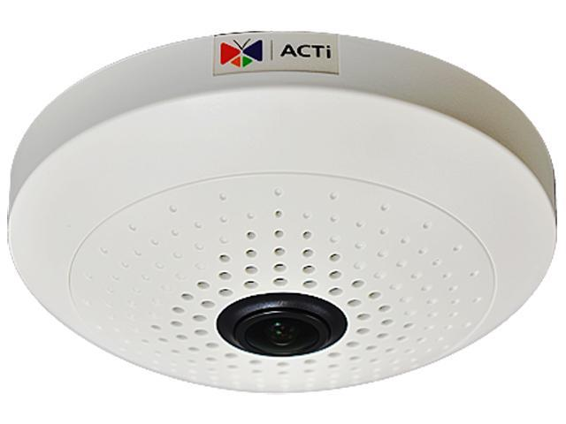 ACTi B56 RJ45 3MP Indoor Fisheye Dome Camera with D/N,Superior WDR, Fixed Lens