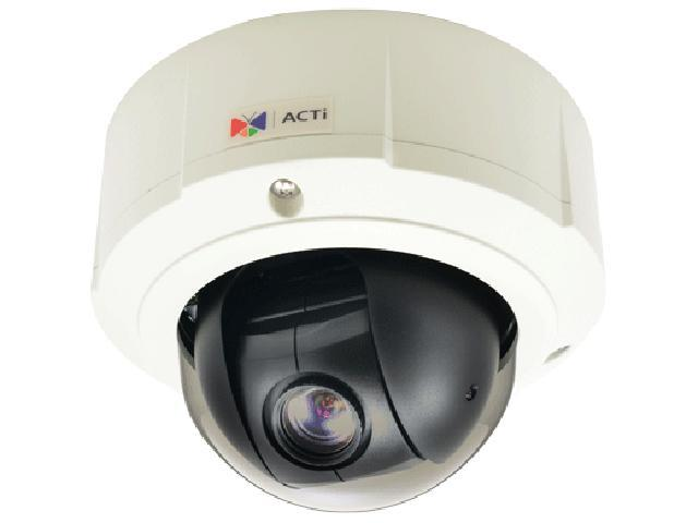 ACTi B96 RJ45 5MP Outdoor Mini PTZ Camera with D/N,Basic WDR, SLLS, 10x Zoom Lens