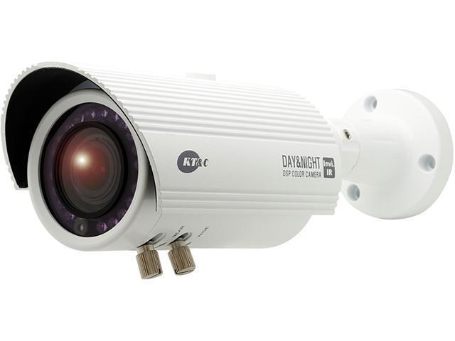 KT&C KPC-N501NUW Invisible IR True D/N Dual Voltage IP66 Bullet Camera