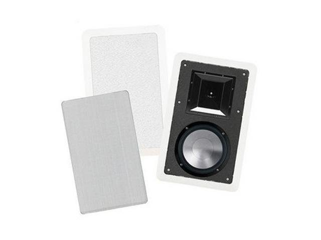 BIC America Formula FH8-W 175Watt In-Wall 2-Way Speakers with Mid/High Frequency Horns Pair