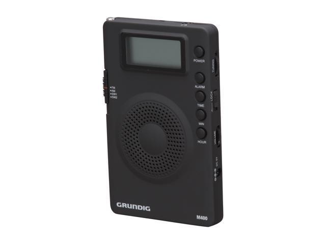 eton Super Compact AM/FM Shortwave Portable Radio Grundig MINI 400 - Black