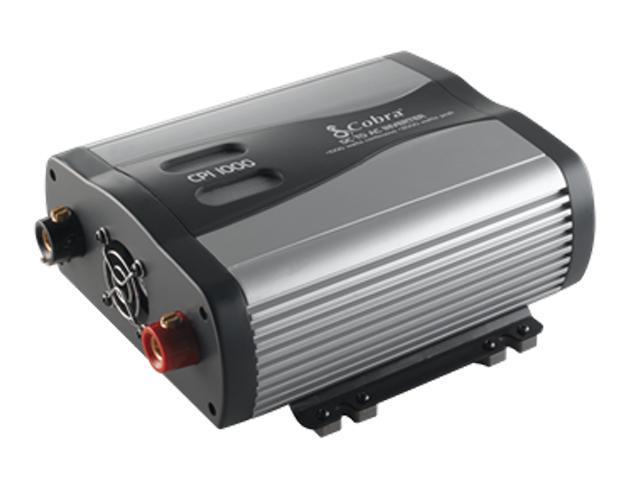Cobra CPI 1000 12V DC to 120V AC Power Inverter with USB Port