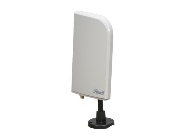 Rosewill RMS-DA5600 - Amplified Digital / UHF / VHF HDTV Antenna - Indoor / Outdoor with FM Trap Filter - 30 Miles Range