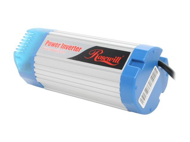 Rosewill 150W Can Sized Silent Car Inverter with 1Amp USB Port RCP-E150C