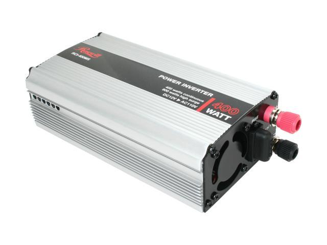 Rosewill 400W DC To AC Power Inverter with Power Protection and Alarming RCI-400MS