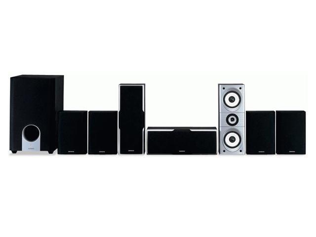 ONKYO SKS-HT540 7.1 CH Black Home Theater Speaker System