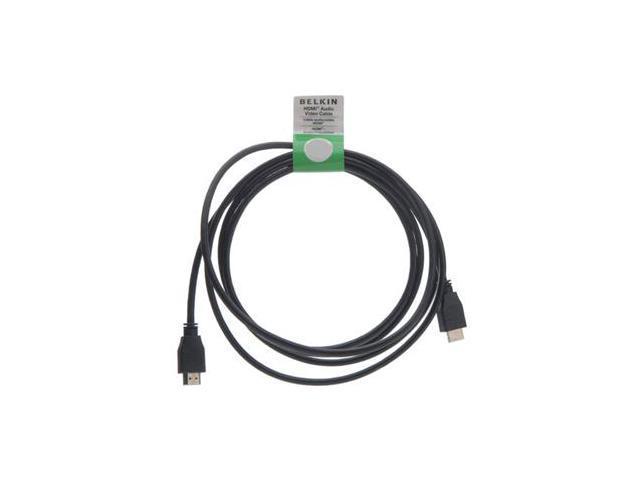 Belkin F8V3311b20 HDMI Cable - HDMI - 20 ft - HDMI Male Digital Audio/Video - HDMI Male Digital Audio/Video - Black - OEM